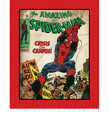 "FABRIC PANEL Camelot Cottons ~ AMAZING SPIDER-MAN ~ by Marvel Comics 36"" x 44"""