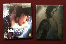 Beyond Two Souls Special Edition Steel Book w/ Slipcover Playstation 3 PS3