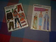 Los Vestidos de Sandokan Mariana y sus vestidos antiguo recortable heroes nuevo