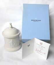 Wedgwood Dancing Hours Bijoux Box - Boxed Limited Edition Jasperware