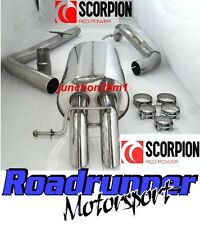 Scorpion Golf MK4 1.9 TDI Exhaust System Stainless Cat Back Non-Res Disc Tail