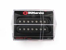 DiMarzio Ionizer 7 String Bridge Humbucker Black W/Chrome Poles DP 711