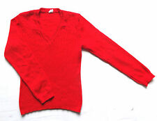 Women's Vintage 70's Cable Knit Jumper Retro Boho Mod 6
