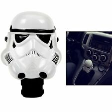 New White Helmet Clone Storm Trooper Car Manual Gear Stick Shift Lever Knob