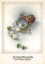 BG14977 dice clover new year neujahr   germany