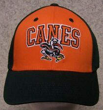 Embroidered Baseball Cap NCAA Miami Hurricanes NEW 1 hat size fits all