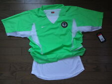 Nigeria100% Authentic Player Issue Soccer Jersey 2002/03 L BNWT Double Layer