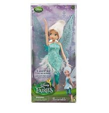 "Disney Store Tinker Bell Sister Periwinkle Fairy Toy Doll Figure 12"" Girls Gift"