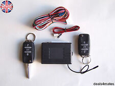 Remote Central Locking Kit VW GOLF mk4 mk5 POLO + HAA keys 2 fobs LED indicator