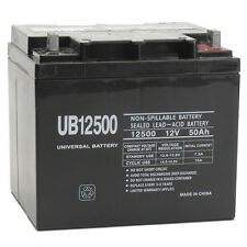 UPG 12V 50Ah Wheelchair Battery Replaces Pihsiang 109101-89203-50P