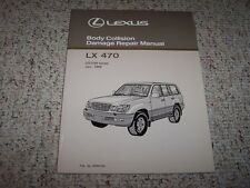 1998 Lexus LX470 Body Service Repair Manual 1999 2000 2001 2002 2003 2004 2005