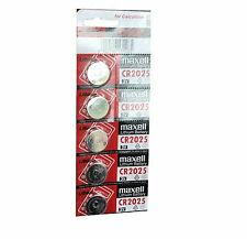 20 x CR2025 Branded Hitachi MAXELL 3V LITHIUM Coin Cell Button Batteries