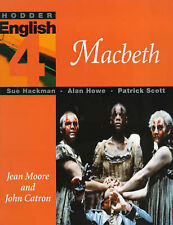 "Hodder English: Macbeth Level 4, Scott, Patrick, Hackman, Sue, Howe, Alan, ""AS N"