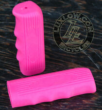 Pink Vintage Schwinn Bicycle Cushioner Type Rubber Grips Cruiser Bike Handlebar
