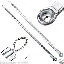 UK Stainless Acne Blackhead Spot Pimple Remover Extractor Removal Tool Cleanser