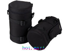 Camera Lens Protector Pouch Case Insert Bag Cover For Lens DSLR SLR NEW