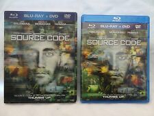 Source Code (Blu-ray/DVD)~~~Best Buy Exclusive~~LENTICULAR SLIPCOVER~~~MINT DISC