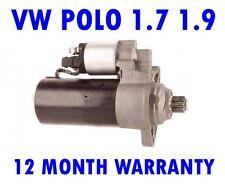 VW POLO 1.7 1.9 SDI 1994 1995 1996 1997 1998 1999 2000 2001 RMFD STARTER MOTOR