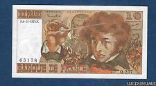10 Francs Berlioz Type 1972 - 6-11-1975 Q.257 Qualité SUP / SPL
