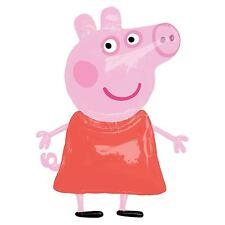 """Riesig 48"""" Peppa Pig Airwalker Helium Folienballon Figur Pink Lebensgröße"""