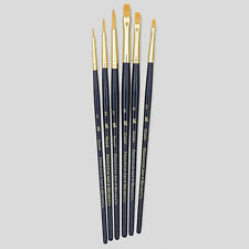 Princeton Art Brushes 6 Set Synthetic Hair Watercolour Acrylic Oil Painting 9137