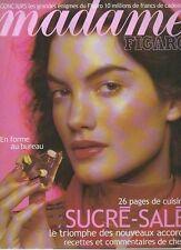 madame FIGARO 10/11/2000 julien clerc henri di rosa