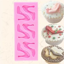 Silicone High-heel Shoes Design Fondant Cake Molds Chocolate Mould Decoration UL