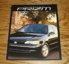 Original 2002 Chevrolet Prizm Sales Brochure 02 Chevy
