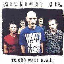 20,000 Watt R.S.L.: Greatest Hits by Midnight Oil (CD NO ARTWORK DISC ONLY