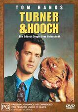 TURNER & HOOCH Tom Hanks DVD R4 - PAL