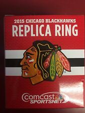 Chicago Blackhawks - Replica_Stanley Cup Champions Ring_SGA  12-11-2015 - NEW!!