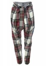Vivienne Westwood Anglomania Exhibition Tartan Kung Fu Trousers Pants IT42