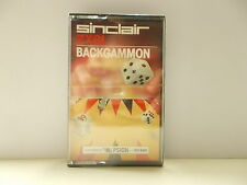 Backgammon, Sinclair ZX81,