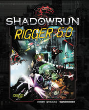 Shadowrun RPG: Rigger 5.0 Hardcover PSI CAT27007