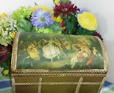 Vintage trunk style Music box Strangers in the Night