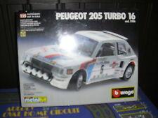 RARISSIMO METAL KIT MONTAGGIO BURAGO PEUGEOT 205 TURBO COD 5106 NUOVO IN BOX