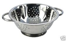Pendeford Stainless Steel Collection Twin Handled Colander 23 cm SS023