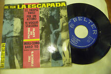 "THE FINDERS(P.DI CAPRI)"" LA ESCAPADA-disco 45 giri EP BELTER Spain 1961""OST/RAR-"