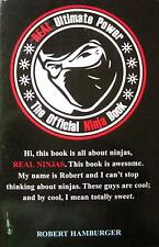 THE OFFICIAL NINJA BOOK REAL ULTIMATE POWER NINJUTSU KUNG FU KARATE MARTIAL ART