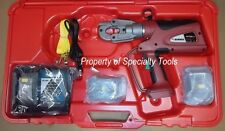 Burndy PAT600LI Hydraulic battery operated crimper 6 ton crimping tool DEMO