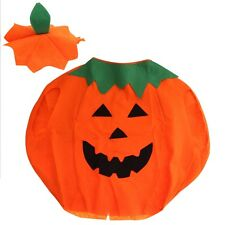 Caldo Zucca Costume Halloween Unisex Abbigliamento Bambini NUOVO