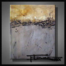 ABSTRACT MODERN PAINTING CANVAS WALL ART Large, Signed, US          ELOISExxx