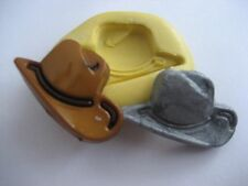 Cowboy hat western 31mm Flexible silicone mold for chocolate fondant clay & more