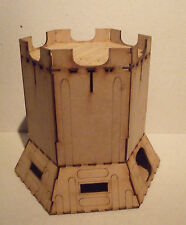Military building - Defense line E - scenery terrain for warhammer 40k wargames