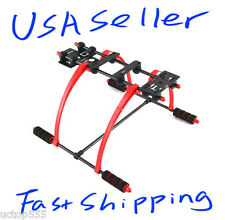 FPV Anti Vibration Red Multifunction Landing Skid DJI F450 F550 Quadcopter Hexa