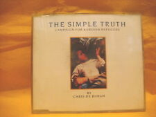 MAXI Single CD CHRIS DE BURGH The Simple Thruth LIMITED EDITION 2TR 1987 vocal