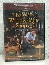 NEW! The Woodwright's Shop with Roy Underhill Season 24 [DVD]