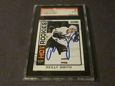 REILLY SMITH AUTOGRAPHED 2012-2013 SCORE ROOKIE CARD-SGC SLAB-ENCAPSULATED