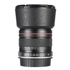 Professional Kelda 85mm f/1.8 Manual Focus Portrait Lens for Canon DSLR Camera