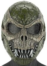 "Army of Two ""SLITHER"" OD Green Camo Custom Fiberglass Paintball / Airsoft Mask"
